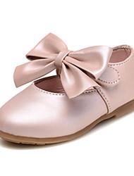 Mariage Extérieure Habillé Décontracté Soirée & Evénement-Rose Or-Talon Plat-Confort Light Up Chaussures-Ballerines-Similicuir