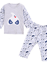 Boy Cotton Clothing Set , All Seasons Long Sleeve