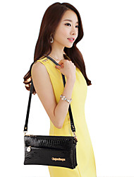 Women Mini Shoulder Bag PU Crocodile Handbag Crossbody Bag Purse