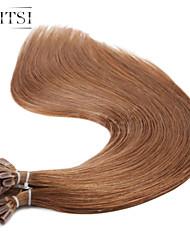 """neitsi 20 """"1g / с 50g кератина слияние у ногтей наконечник прямые Ombre расширения человеческих волос # 30"""