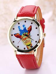 Women's fashion leather watch