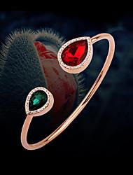 Goud / Legering Dames Chain Armbanden Bergkristal
