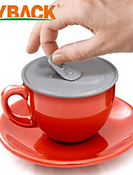 Easy-pulled Silicone Cup Cover Anti-dust Leak-proof Put On IT Coffe Mug Lid