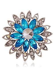 Alloy/Rhinestone/Acrylic Brooch/Fashion All-match Hollow Flower brooch/Wedding/Party/Daily 1PC