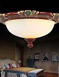 37*19CM  Europe Type Resin Glass Dome Light Sweet Bedroom Study Led To Absorb Dome Light LED Lamp