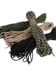 Paracorde Corde Extérieur Camping Multi Fonction Kit de Secours Durable Urgence Militaire Nylon Vert Kaki Noir Camouflage
