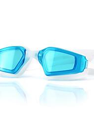 tamanho feiupe®adjustable, impermeável, anti-fog para o preto unisex / azul / rosa azul / óculos de natação brancos / negros