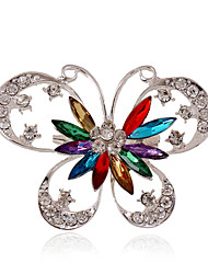 Damen Europäisch Modeschmuck Schmuck mit Aussage Modisch Luxus-Schmuck individualisiert Edelstein Acryl Strass versilbert Diamantimitate