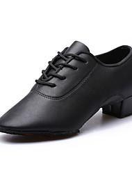 Keine Maßfertigung möglich Herren Kinder Latin Leder Stiefel Oxfords Sneakers AbsätzeInnen Im Freien Aufführung Praxis Anfänger