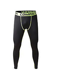 Men's Outdoor Indoor Running Cycling Sports Tight Compression Training Pants