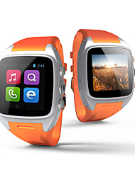 X01 Wearable Android 4.4 Watch Phone, 2.0MP/Wifi/GPS Hands-free calls/Media Control/Pedometer