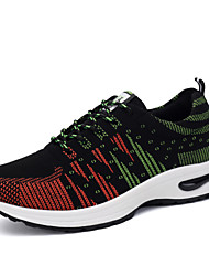 Men's Shoes Outdoor / Office & Career / Athletic / Casual Fabric Fashion Sneakers Blue / Green / Red
