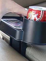 TIROL Car Holder Cup Seat Multi Tray Drink Food Cup Tray Holder Stand Table Auto Travel Food Holder and Tray Seat tray