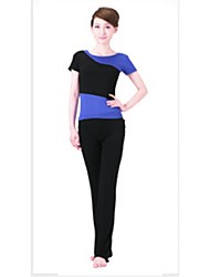 Yoga Suit Sports Causal Running Clothing Fitness Clothes Yoga Wear Sports Suits Gear Suits = Short Sleeve Top + Trousers