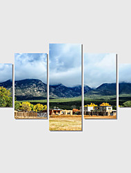 5 Plane Abstract Scenery Home Decor Wall Art Canvas Picture Print Painting Cuadros Decoracion Canvas Arts (Unframed)