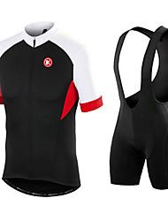 KEIYUEM Cyclisme Ensemble de Vêtements/Tenus / Collants Homme / Unisexe VéloEtanche / Résistant à la poussière / Pare-vent / Faible