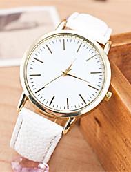 Women's  Fashion  Simplicity Quartz  Leather Lady Watch