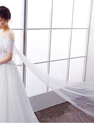 Envolturas de boda Boleros Sin manga Encaje / Tul Blanco Boda / Fiesta Hombro caído Lazo / Encaje Cierre oculto