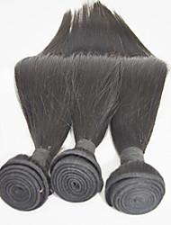 Human Hair Weaves 3pieces/lot 12inch Human Hair Extension Silk Straight Virgin Hair