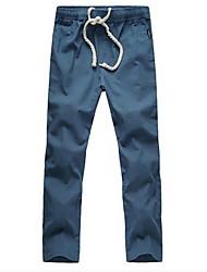 Men's Casual Retro Casual Linen Trousers