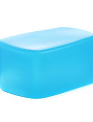 nouveau silicium a3 souple rebond flash diffuseur softbox blanc + jaune + bleu pour nikon SB900 / sb910 mk-910