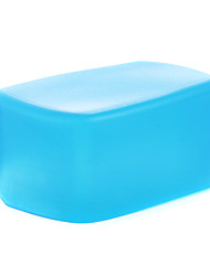 NEW A3 Silicon Flexible Flash Bounce Diffuser Softbox White+Yellow+Blue for Nikon SB900/SB910 MK-910