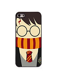 Cartoon Boy Design Aluminum Hard Case for iPhone 5/5S