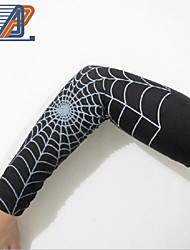 nba aranha de basquete conjunto de manga estendida braço esportivo anti-derrapantes cotovelo cuidado de manga comprida
