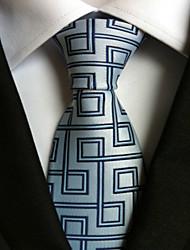 New Blue Maze Classic Formal Men's Tie Necktie Wedding Party Gift TIE0066