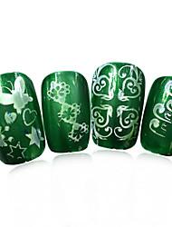 1pcs nieuwe 12x6cm image diy stamping platen nail art templates stencils voor polish xy-L24