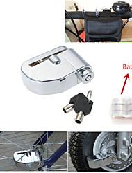 iztoss 7mm sécurité broches moto auto-alarme scooter cyclomoteur disque de roue anti-voleur freins de sécurité d'alarme verrouillage rotor