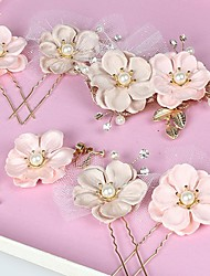 Women's Fabric Headpiece - Wedding / Special Occasion Hair Clip 1 Piece