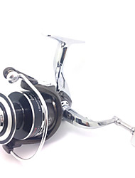All Metal Aluminum Reel 6000 Size 4.9:1 10+1 Ball Bearings Full Metal Sea Fishing Freshwater Fishing Carp Fishing Reel