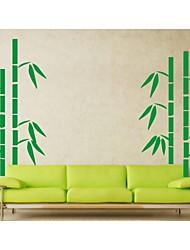 ботанический Наклейки Простые наклейки , PVC 150*90cm