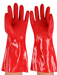 33 cm warme Baumwolle Latex Gartenhandschuhe (2 / Set)