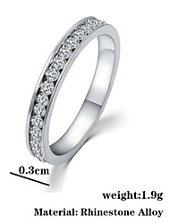 Vintage / Casual Alloy / Cubic Zirconia Band Ring