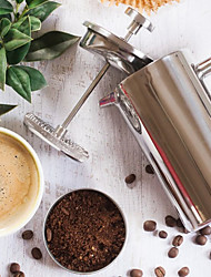 Stainless Steel French Coffee Press Won't Rust and Dishwasher Safe.