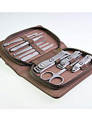 High Quality Stainless Steel Manicure Set 10 in 1