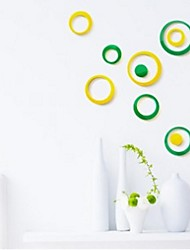 Shapes / 3D Wall Stickers 3D Wall Stickers , PVC