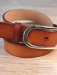 Women Calfskin Waist Belt,Vintage / Casual Alloy All Seasons