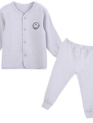 Unisex Cotton Clothing Set , Spring Long Sleeve