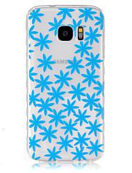 Pour Samsung Galaxy Coque Transparente Coque Coque Arrière Coque Fleur PUT pour Samsung S7 S6 edge S6 S5 Mini S5 S4 Mini S4 S3 Mini S3 S2