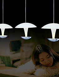 Max 15W Modern/ LED / Bulb Included Painting Metal Pendant LightsLiving Room / Bedroom / Dining Room / Study Room/Office