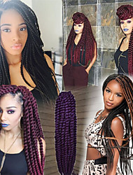 1Pack/Lot 12-24Inch  Marly Curly Synthetic Kanekalon Fiber Hair Havana Twist Hair Extesnion Crochet Braids