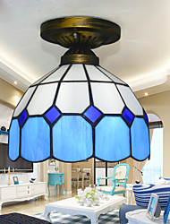20*23CM Tiffany'S Mediterranean Contracted Absorb Dome Light Creative Bedroom Absorb Dome Light LED Lamp