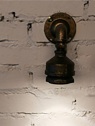 Loft Iron Water Pipe Lamp LED Wall Sconce Industrial Vintage Wall Light Fixtures For Home Indoor Lighting-FJ-DB2-048A0