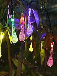 King Ro 100LED 8 Mode Xmas Crystal Water Drop Decorative String Light(KL0041-RGB,White,Warm White)