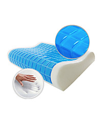 Pillow Massager Memory Foam Summer Cool Wave Pillow Healthy Pillow 100% Protect Neck Home Textile Space 55*35*11/9cm