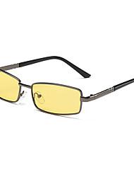Gafas de Sol hombres's Deportes / Modern / Moda / Polarizada Cuadrado NegroGafas de Sol / Deportes / Conducción / Gafas de visión