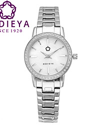 KEDIEYA Top Brand Ladies Watches Zircon Diamond Mosaic 316L Steel 50M Waterproof Quartz Watch Dress Watches for Women Cool Watches Unique Watches